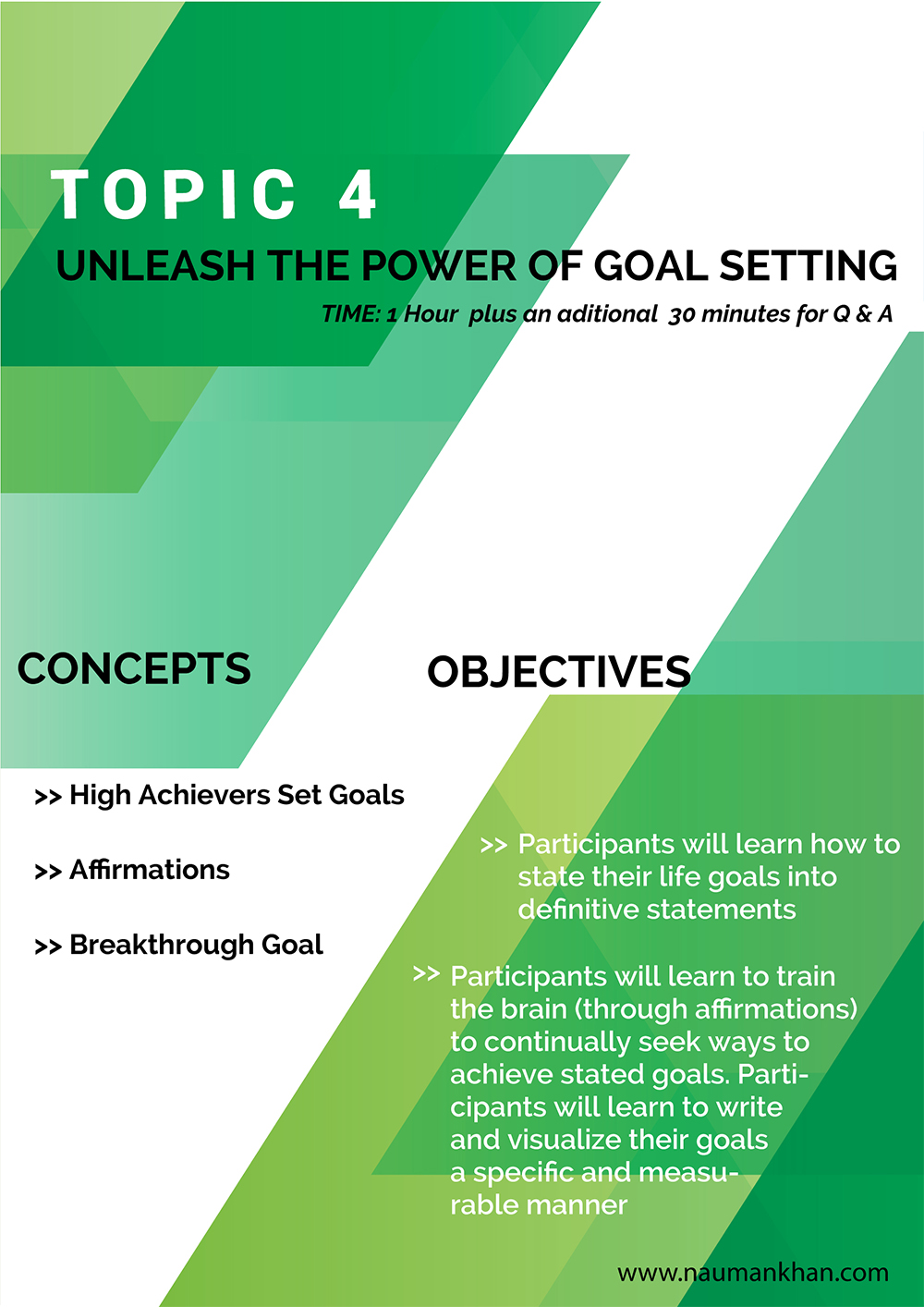 Unleash the Power of Goal Setting